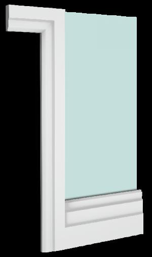 Ascott Skirting Board Architrave Combination