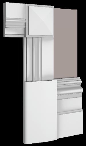 Coco Skirting Board Architrave Combination
