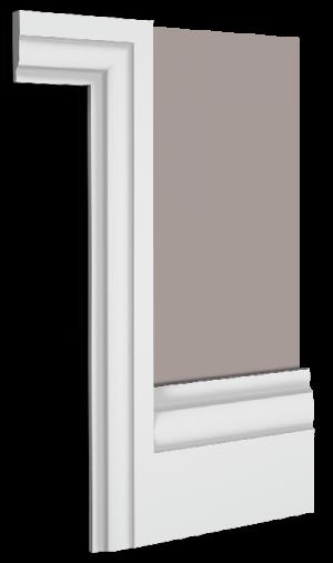 Cosmopolitan Skirting Board Architrave Combination