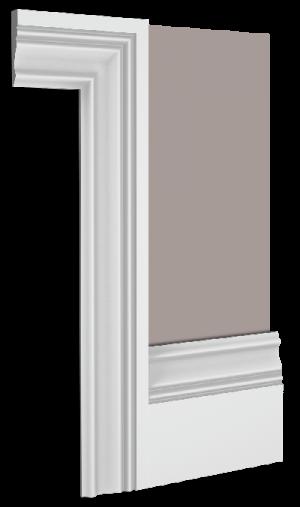 Hyatt Skirting Board Architrave Combination