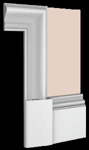 La-Mer Skirting Board Architrave Combination