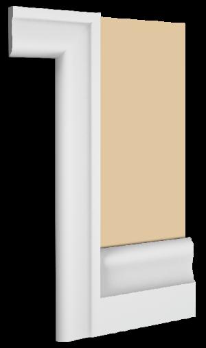 Langham Skirting Board Architrave Combination