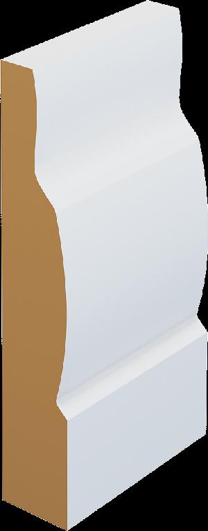 M44 Modern Skirting Board / Architrave