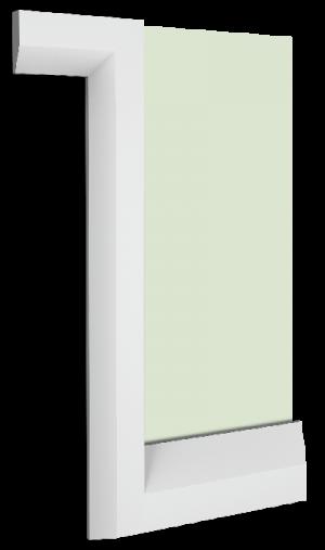 Meridan Skirting Board Architrave Combination