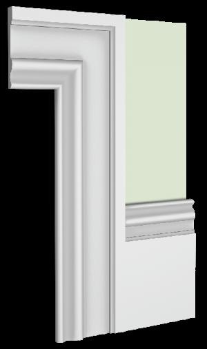 Portobello  Skirting Board Architrave Combination