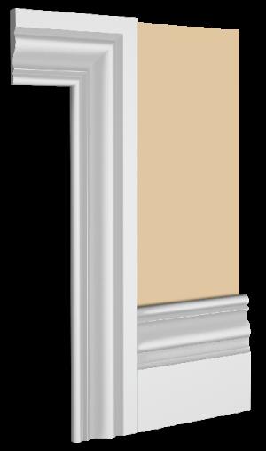 Raffles Skirting Board Architrave Combination